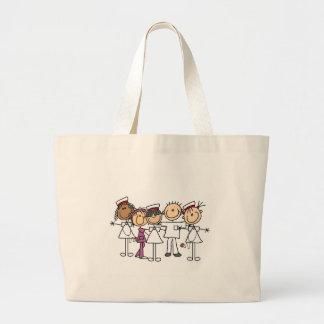 Camisetas y regalos de la semana de las enfermeras bolsas de mano