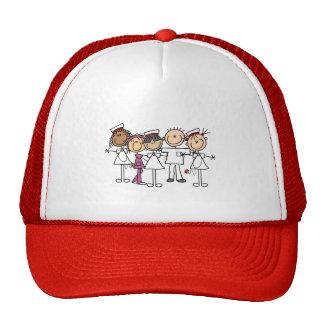 Camisetas y regalos de la semana de las enfermeras gorros bordados