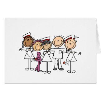 Camisetas y regalos de la semana de las enfermeras felicitacion
