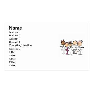 Camisetas y regalos de la semana de las enfermeras plantilla de tarjeta de visita