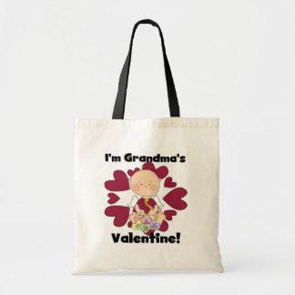 Camisetas y regalos de la tarjeta del día de San V Bolsa Tela Barata