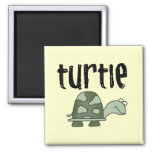 Camisetas y regalos de la tortuga imanes de nevera