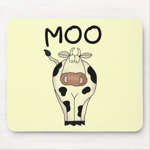 Camisetas y regalos de la vaca del MOO Alfombrillas De Ratones