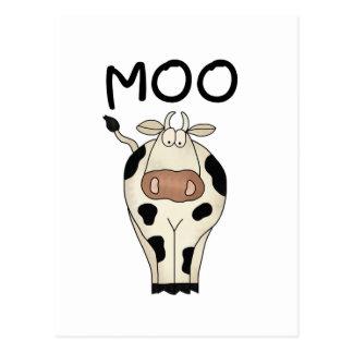 Camisetas y regalos de la vaca del MOO Tarjeta Postal