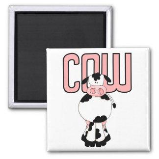 Camisetas y regalos de la vaca imán de frigorifico