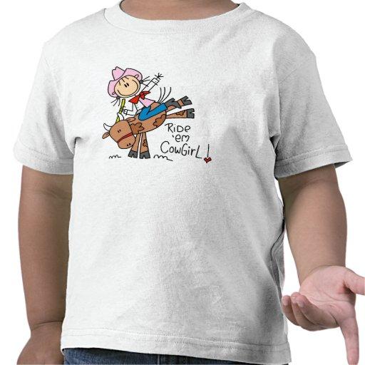 Camisetas y regalos de la vaquera del Em del paseo