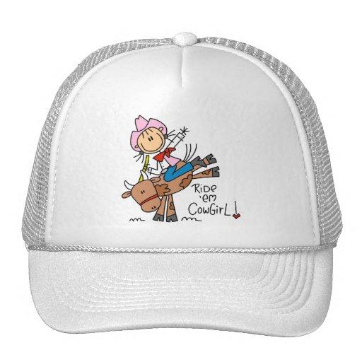 Camisetas y regalos de la vaquera del Em del paseo Gorros