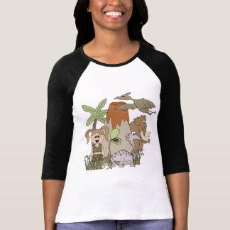 Camisetas y regalos de la vida prehistórica del playeras