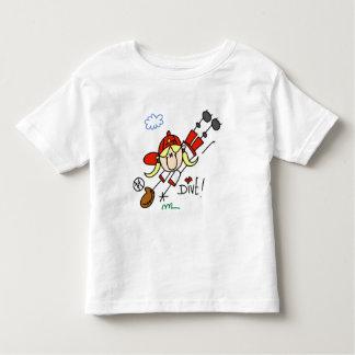 Camisetas y regalos de la zambullida del béisbol playera
