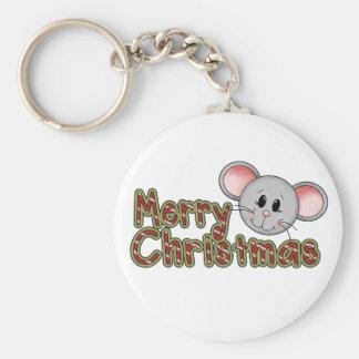 Camisetas y regalos de las Felices Navidad del rat Llaveros