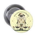 Camisetas y regalos de las ovejas de los niños pin