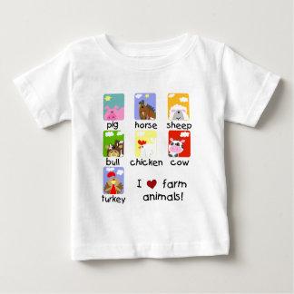 Camisetas y regalos de los animales del campo poleras