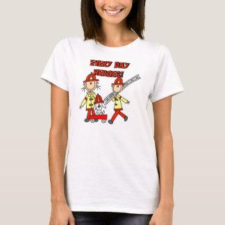 Camisetas y regalos de los bomberos de los héroes