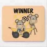 Camisetas y regalos de los corredores del mono alfombrilla de raton