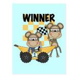 Camisetas y regalos de los corredores del mono postal