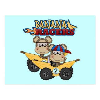Camisetas y regalos de los corredores del plátano postales