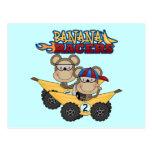 Camisetas y regalos de los corredores del plátano tarjetas postales