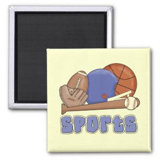 Camisetas y regalos de los deportes de All Star Imanes Para Frigoríficos
