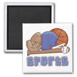 Camisetas y regalos de los deportes de All Star Imán Para Frigorifico