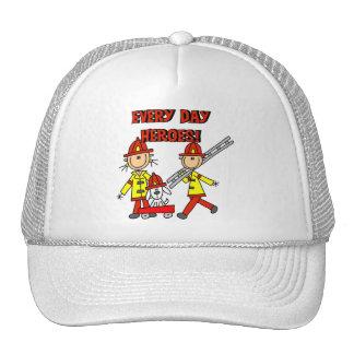 Camisetas y regalos de los héroes del bombero gorras