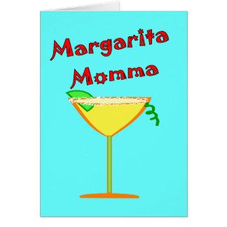 Camisetas y regalos de Margarita MOMMA Tarjeta De Felicitación