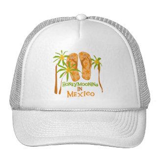 Camisetas y regalos de México de la luna de miel Gorras De Camionero