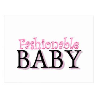 Camisetas y regalos de moda del bebé postal