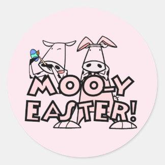 Camisetas y regalos de MOO-y Pascua Etiqueta Redonda