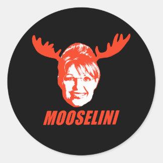Camisetas y regalos de Mooselini Etiquetas Redondas