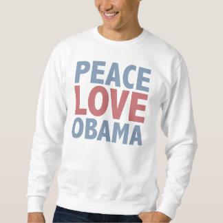 Camisetas y regalos de Obama del amor de la paz Jersey