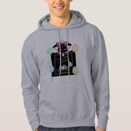 Camisetas y regalos de Pascua de la oveja del país Sudadera Encapuchada