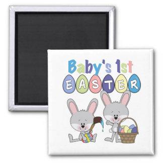 Camisetas y regalos de Pascua de los huevos de Pas Imán Cuadrado