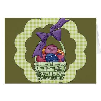 Camisetas y regalos de Pascua Tarjeta De Felicitación
