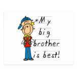 Camisetas y regalos de pequeño Brother Postal