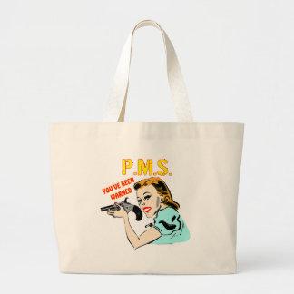 Camisetas y regalos de PMS para ella Bolsas