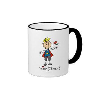 Camisetas y regalos de príncipe el encantar taza de dos colores