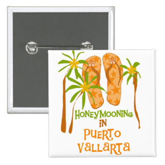 Camisetas y regalos de Puerto Vallarta de la luna Pin