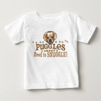 Camisetas y regalos de Puggle del Snuggle Playera Para Bebé