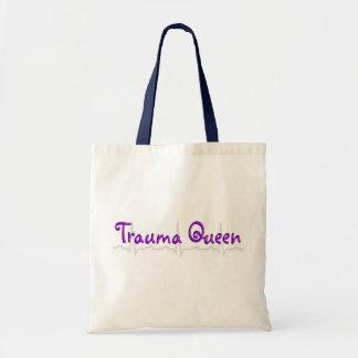 Camisetas y regalos de Queen del trauma de la enfe Bolsa