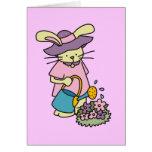 Camisetas y regalos de riego de las flores del con tarjetas