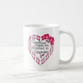 Camisetas y regalos de Scrapbooker del corazón del Tazas De Café