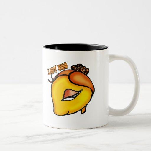 Camisetas y regalos de señora Bug Tazas De Café