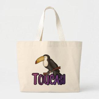 Camisetas y regalos de Toucan Bolsa Tela Grande