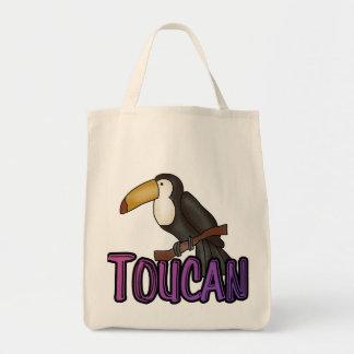 Camisetas y regalos de Toucan Bolsa Tela Para La Compra