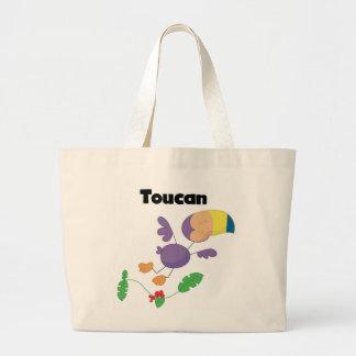 Camisetas y regalos de Toucan del palillo Bolsa Tela Grande