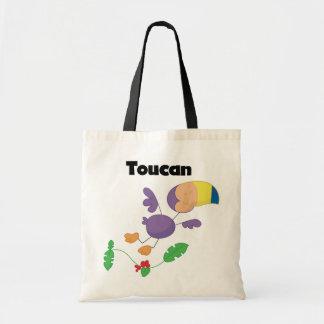 Camisetas y regalos de Toucan del palillo Bolsa Tela Barata
