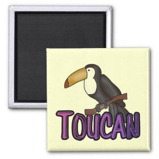 Camisetas y regalos de Toucan Imán Cuadrado