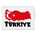 Camisetas y regalos de Turquía Felicitacion
