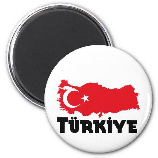 Camisetas y regalos de Turquía Iman De Nevera