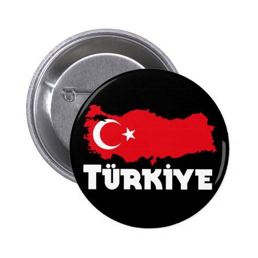 Camisetas y regalos de Turquía Pin Redondo 5 Cm